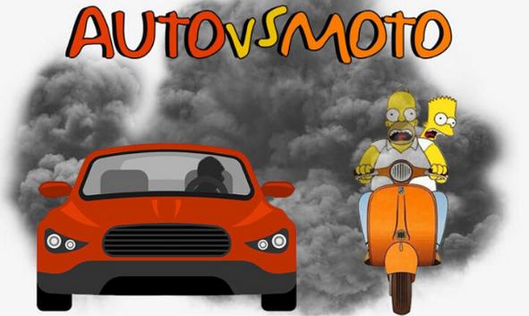 poluare auto vs moto